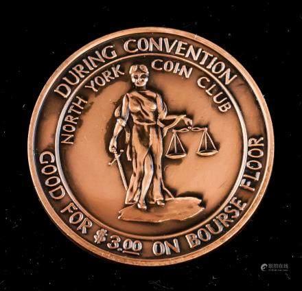 1986 Canadian Numismatic Association Medallion