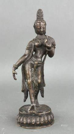 18th/19th Century Burma or India Bronze Figure