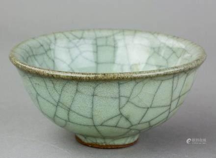 Chinese Ge Type Porcelain Bowl