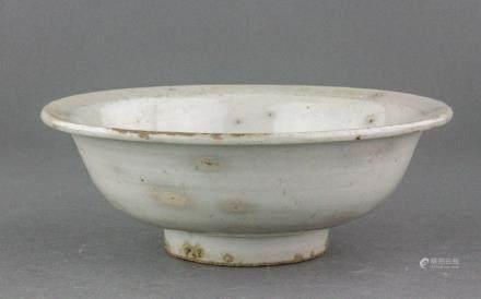 Chinese Ming Celadon Porcelain Bowl
