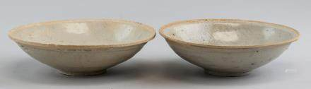 Pair Chinese Song Style Porcelain Bowl