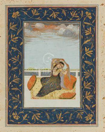 INDE Lucknow ou Awadh - Findu XVIIIe siècle et IRAN - XIXe s