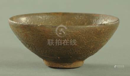 A Chinese stoneware tea bowl Song/Yuan dynasty,
