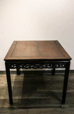 ROSEWOOD SQUARE FORM TABLE