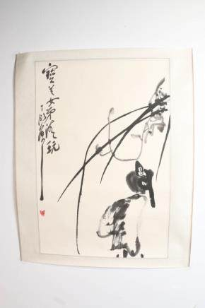 DING YANYONG (1902-1978) BIRD