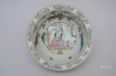 "Bowl in Chinese porcelain ""characters"""
