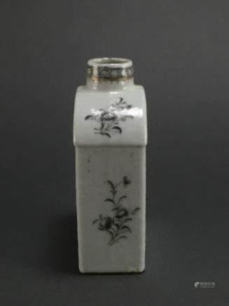 Qing Dynasty: Fine Flask with Flowers