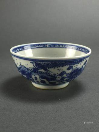 Kangxi: Small Blue and White Cup