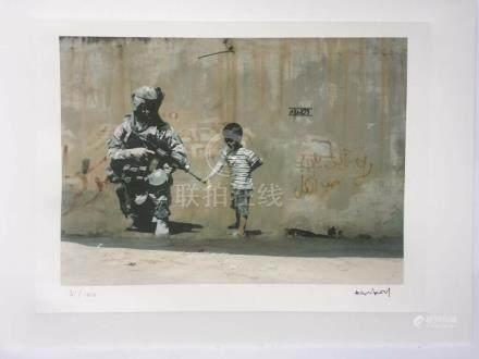 D'après Banksy