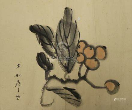 A Japanese painting . 日本画 .
