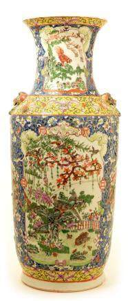A mid 19th Century Chinese Famille Rose vase.
