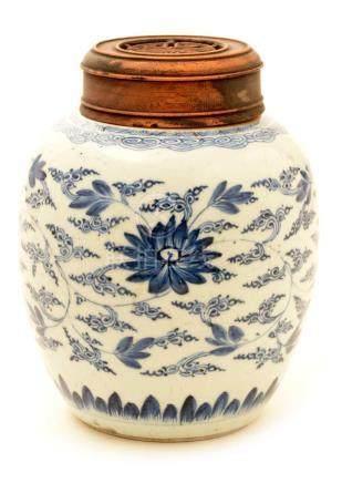 A ginger jar.