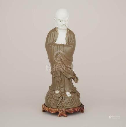 綠釉達摩立像 A Glazed Ceramic Figure of Bodhidharma