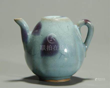 19th C. Jun glazed water pot