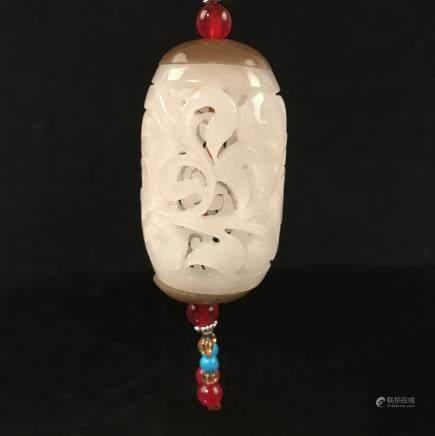 Chinese Jade Bead Openwork