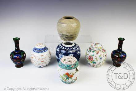 A selection of Chinese items,