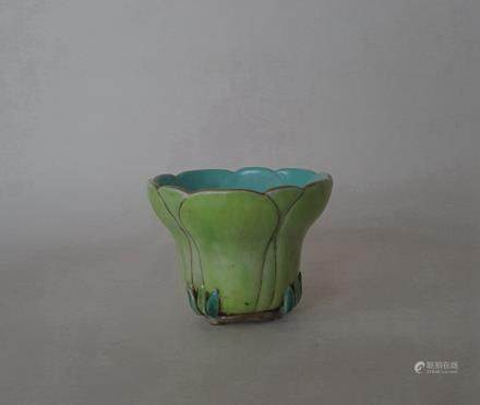 Chinese Famille Rose Porcelain Cup