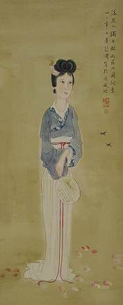 Chinese Scroll Painting,Xu Beihong(1895-1953)