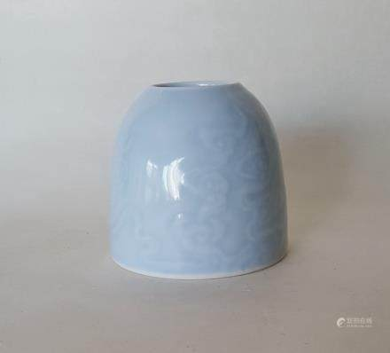 Chinese Blue Glaze Brush Washer