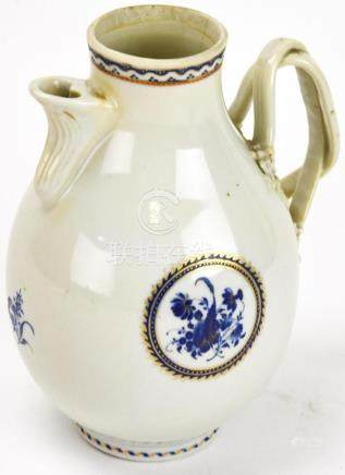 Antique 18th C Chinese Export Porcelain Pitcher