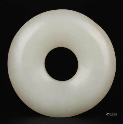 CHINESE WHITE JADE RING