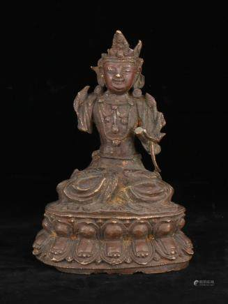 Yuan Dynasty Bronze Figure Of Tara