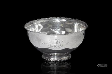 AMERICAN SILVER ROSE / PUNCH BOWL