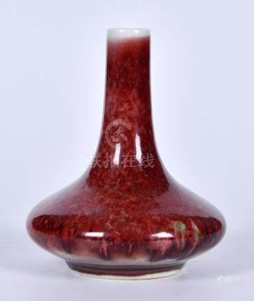 豇豆红扁瓶