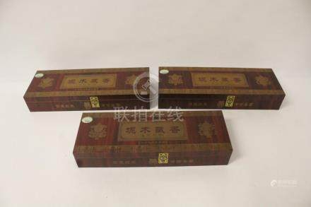3 boxes of Tibetan incense