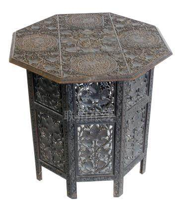 Early 20th century Indian occasional table.
