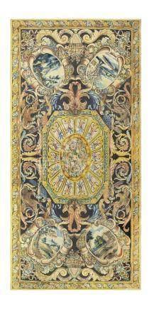 A ROYAL LOUIS XIV SAVONNERIE CARPET