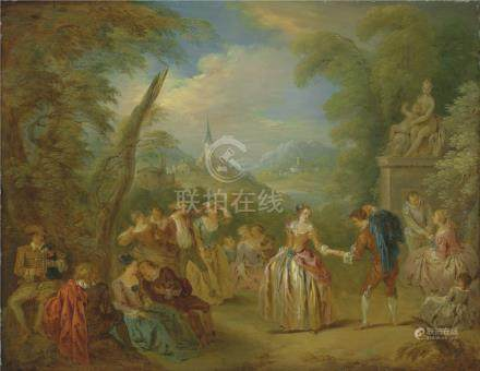 Attributed to Jean-Baptiste Pater (Valenciennes 1695-1736 Paris)