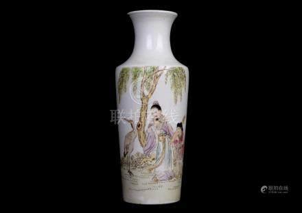 China, Famille Rose Vase