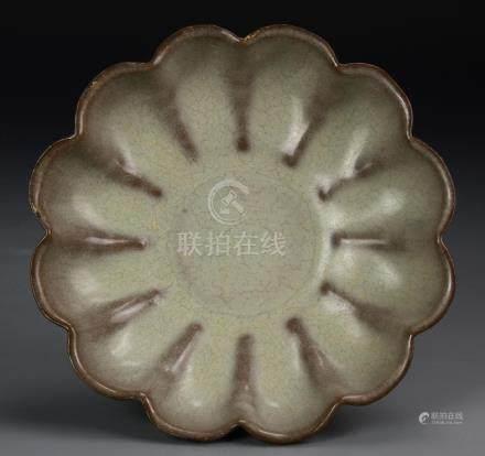 Chinese Yuan Dynasty Yue Yao Bowl