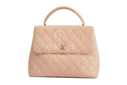 Chanel Pink Caviar Kelly