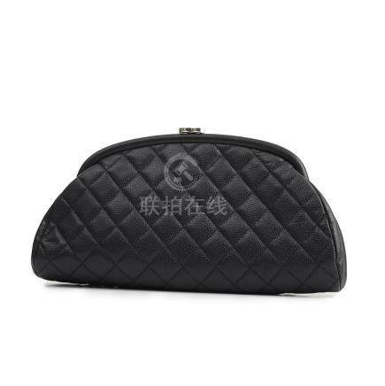 Chanel Navy Timeless Clutch