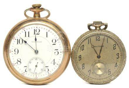 WALTHAM 華爾頓 手動上鏈陀錶二件