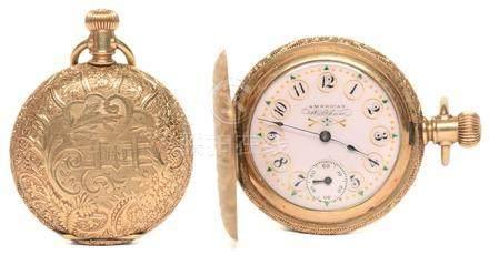 WALTHAM 華爾頓 鍍金手動上鏈陀錶