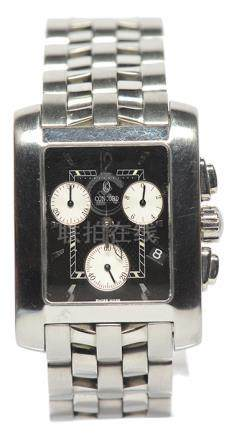 瑞士 CONCORD 鋼石英腕錶