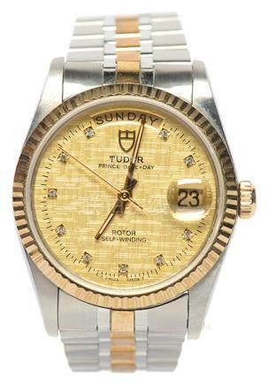 瑞士 TUDOR 帝陀 金鋼自動上鏈腕錶