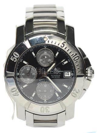 瑞士 BAUME & MERCIER名士 鋼自動上鏈腕錶