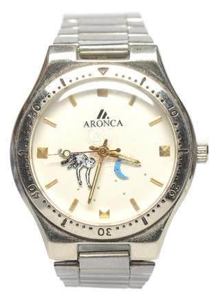 ARONCA 鋼手動上鏈腕錶
