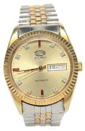瑞士 OCTO 樂都 金鋼自動上鏈腕錶