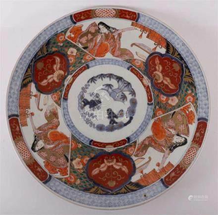 A porcelain dish, Japan, around 1900.