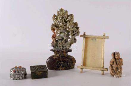 A lot of miscellaneous items, including Indonesia + ivory ph