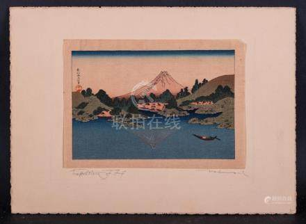 Antique Japense Ukiyo-e/Woodblock Print Published By Shima A