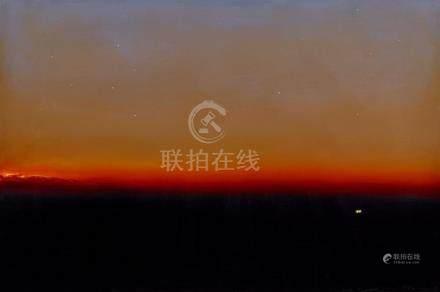 § TIM STORRIER born 1949 Dusk - The Night Runner (1996) synt