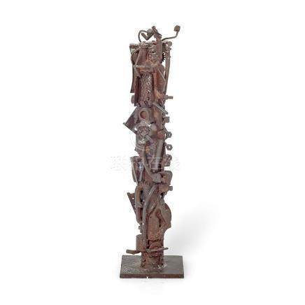 ROBERT KLIPPEL 1920-2001 Opus 408 1986 bronze 15.8 cm (high)