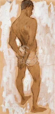 § WILLIAM DOBELL 1899-1970 (Nigerian Model, London) 1937 pen