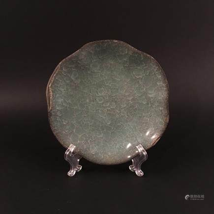 Chinese Celdon Porcelain Plate